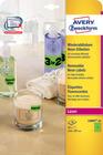 Etykieta neonowa Avery Zweckform L6007 - 20 zielone neonowe A4 - 20 etykiet