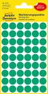 3143 Etykiety Avery Zweckfrom kółka o średnicy 12mm zielone