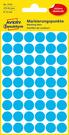 3142 Etykiety Avery Zweckfrom kółka do zaznaczania o średnicy 12mm niebieskie