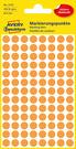 3178 Etykiety Avery Zweckfrom kółka o średnicy 8mm pomarańczowe neonowe