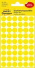 3144 Etykiety Avery Zweckfrom kółka do zaznaczania o średnicy 12mm żółte