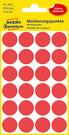 3004 Etykiety Avery Zweckfrom kółka do zaznaczania o średnicy 18mm czerwone