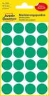 3006 Etykiety Avery Zweckfrom kółka do oznaczania o średnicy 18mm zielone