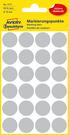 3171 Etykiety Avery Zweckfrom kółka o średnicy 18mm szare