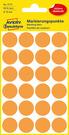 3173 Etykiety Avery Zweckfrom kółka o średnicy 18mm pomarańczowe neonowe
