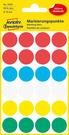 3089 Etykiety Avery Zweckfrom kółka o średnicy 18mm mix kolor